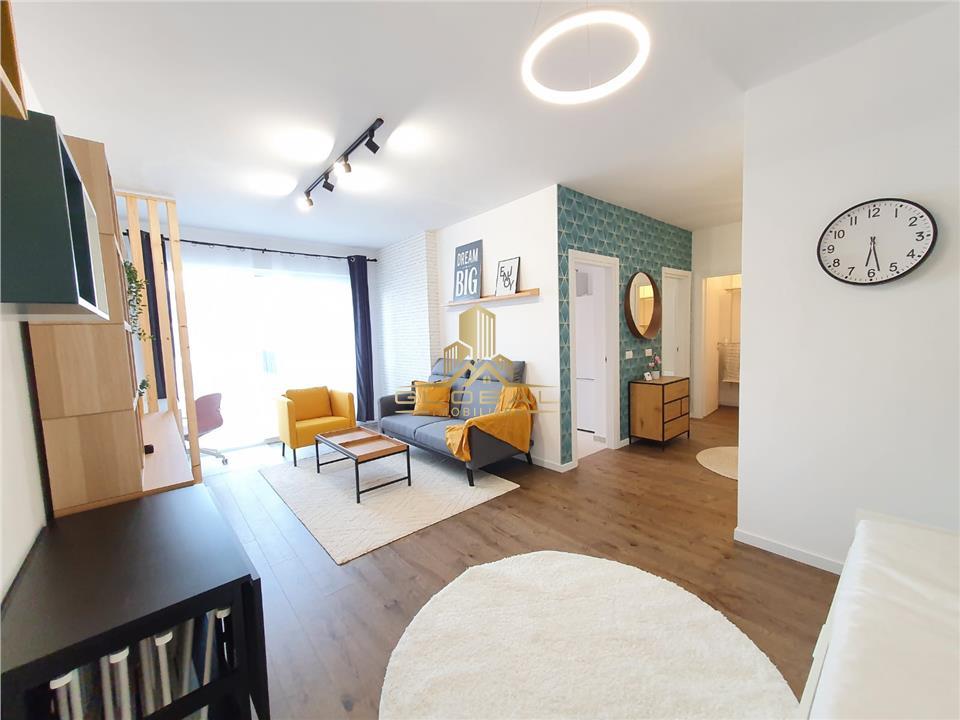 Apartament Lux ,Totul Nou zona Centrala,45 mp ,Mobilat /Utilat, The Office