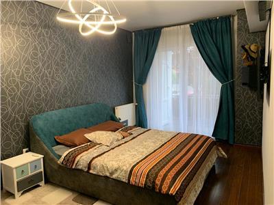 2 camere, 62 mp, mobilat/utilat, parcare, terasa, gradina,  Bonjour- Buna Ziua