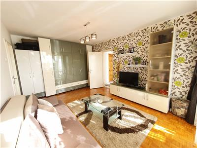 2 camere, 48 mp, Totul Nou, mobilat/utilat, balcon, zona  str Rasinari
